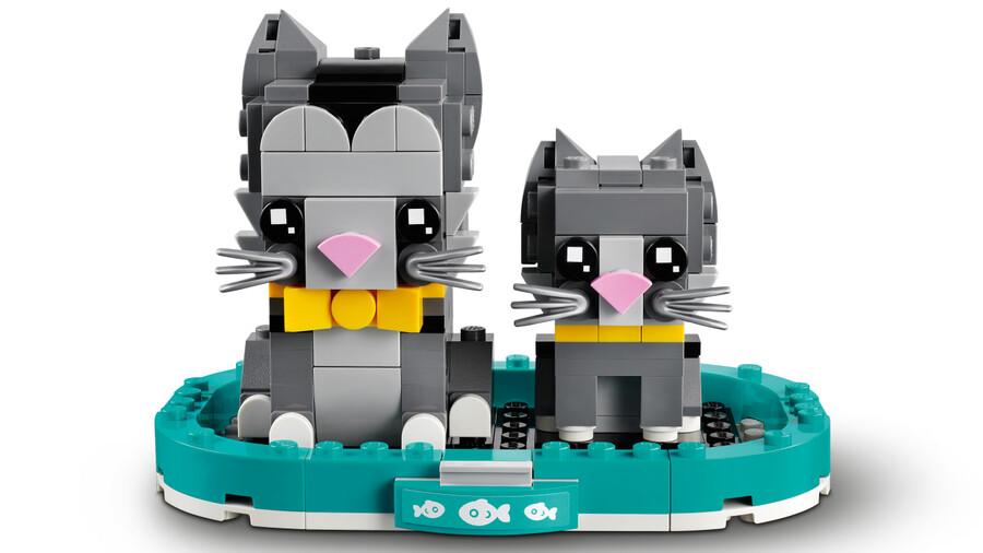 40441 LEGO BrickHeadz Shorthair Kediler