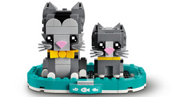 40441 LEGO BrickHeadz Shorthair Kediler - Thumbnail