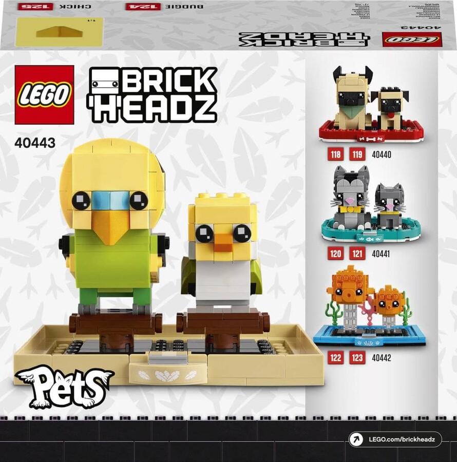40443 LEGO BrickHeadz Muhabbet Kuşu