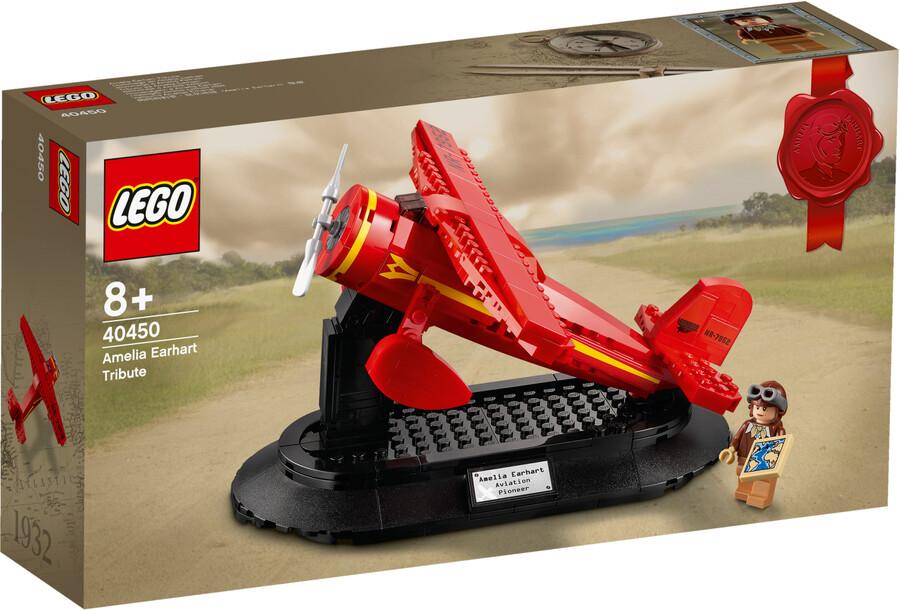 40450 LEGO Iconic Amelia Earhart Hatırası