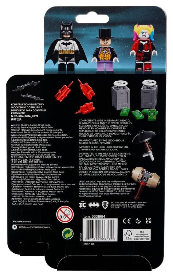 40453 LEGO Super Heroes Batman Penguin ve Harley Quinn'e Karşı