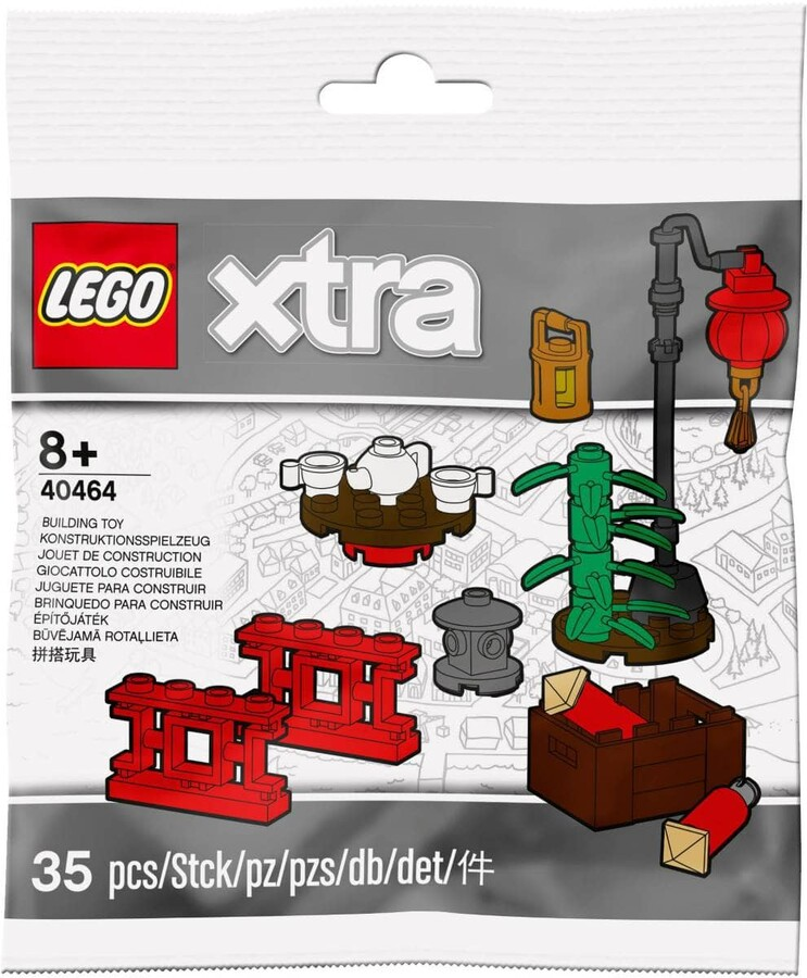 40464 LEGO xtra xtra Çin Mahallesi