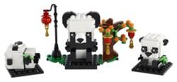 LEGO - 40466 LEGO BrickHeadz Çin Yeni Yılı Pandaları