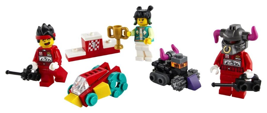 40472 LEGO Monkie Kid Monkie Kid'in Uzaktan Kumandalı Yarışı