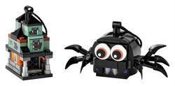 LEGO - 40493 LEGO Iconic Örümcek ve Perili Ev Paketi