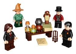 LEGO - 40500 LEGO Harry Potter Büyücülük Dünyası Minifigür Aksesuar Seti