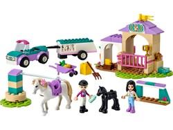 LEGO - 41441 LEGO Friends At Eğitmeni ve At Eğitimi