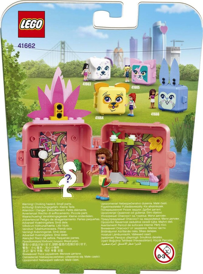 41662 LEGO Friends Olivia'nın Flamingo Küpü