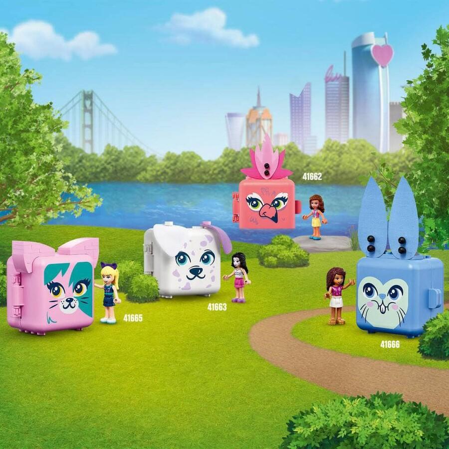 41664 LEGO Friends Mia'nın Süs Köpeği Küpü