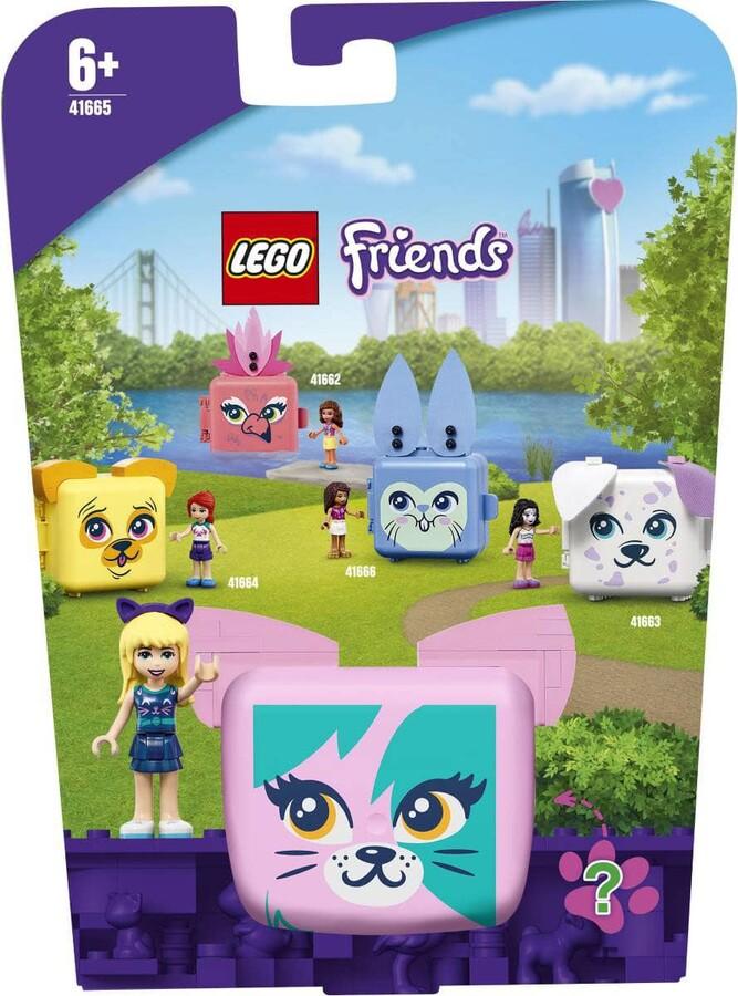 41665 LEGO Friends Stephanie'nin Kedi Küpü