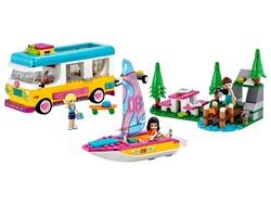 LEGO - 41681 LEGO Friends Orman Karavanı ve Teknesi