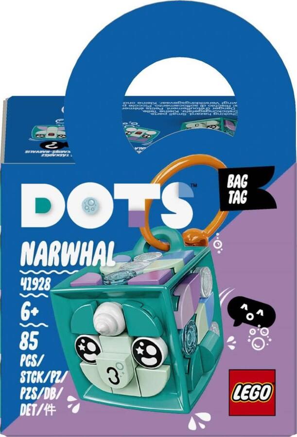 41928 LEGO DOTS Deniz Gergedanı Çanta Süsü
