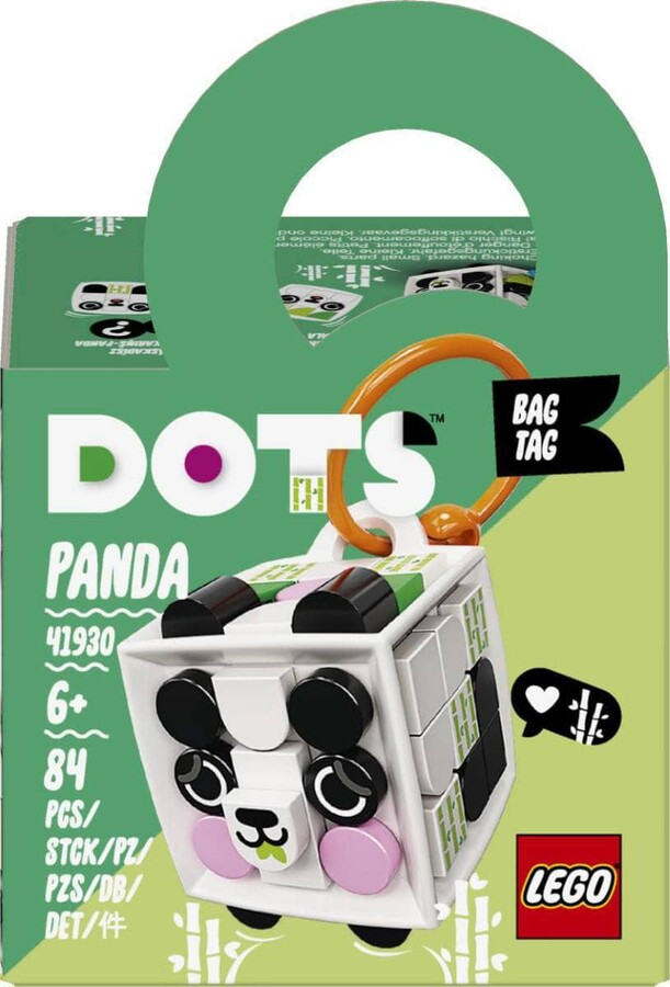 41930 LEGO DOTS Panda Çanta Süsü