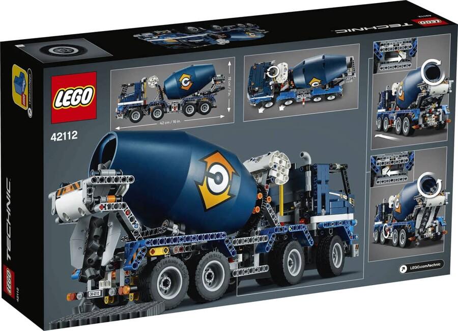 42112 LEGO Technic Beton Mikseri