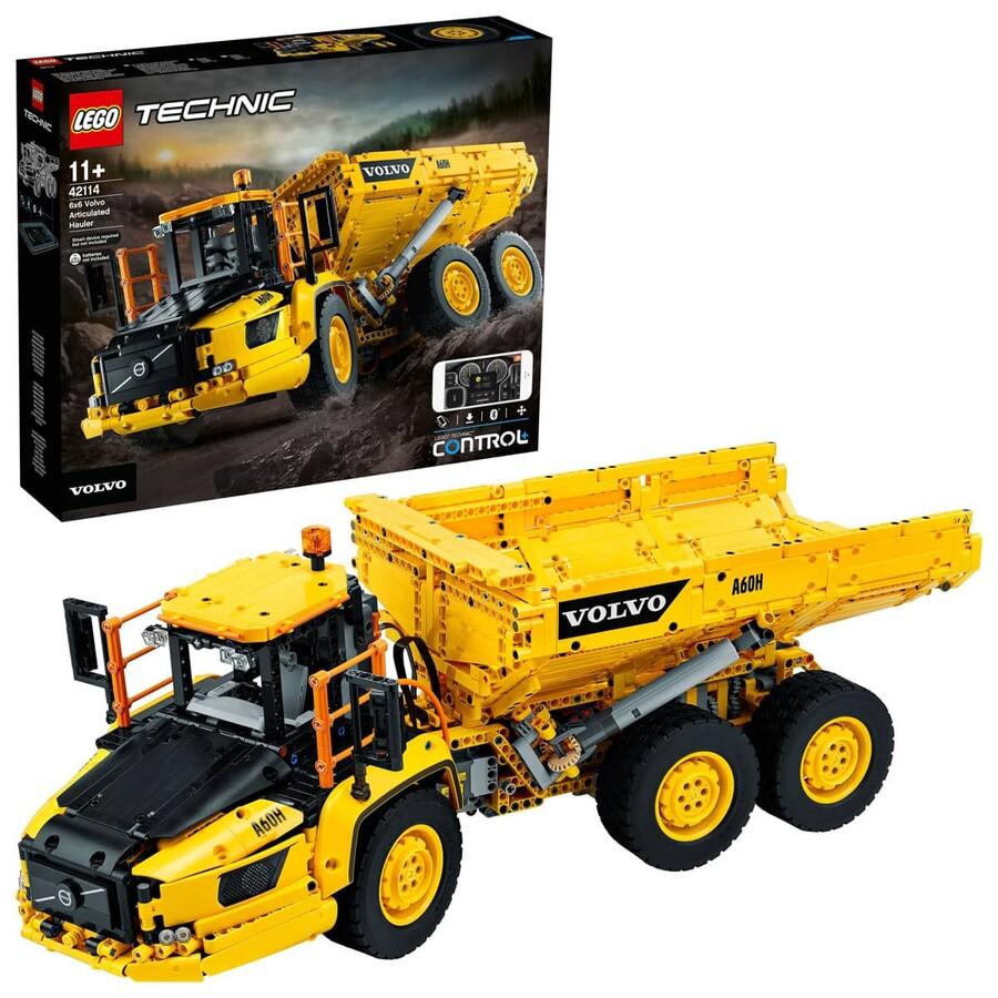 42114 LEGO Technic 6x6 Volvo Mafsallı Kamyon