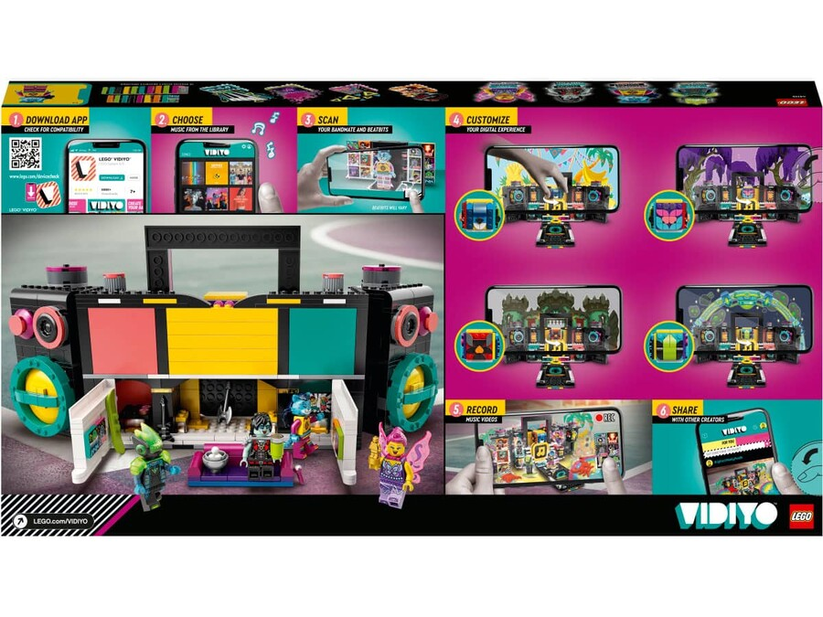 43115 LEGO VIDIYO™ The Boombox