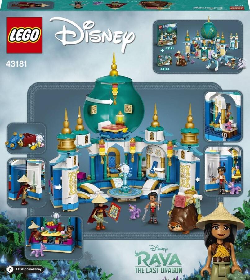 43181 LEGO   Disney Princess Raya ve Kalp Sarayı