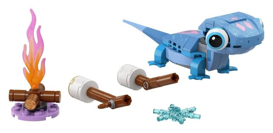 43186 LEGO   Disney Princess Semender Bruni Parçalarla Yapılan Karakter