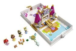 LEGO - 43193 LEGO Disney Princess Ariel, Belle, Sindirella ve Tiana'nın Hikaye Kitabı Macerası
