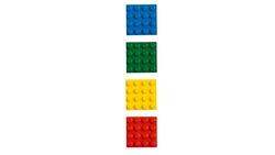 853915 4x4 Brick Magnets Classic - Thumbnail