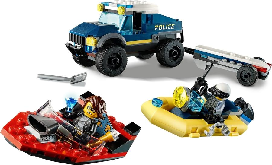 60272 LEGO City Elit Polis Tekne Taşıma Aracı
