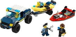 LEGO - 60272 Elite Police Boat Transport