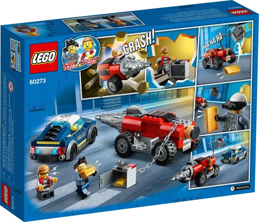 60273 LEGO City Elit Polis Delici Takibi