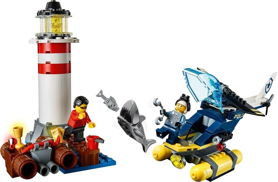60274 LEGO City Elit Polis Deniz Feneri Operasyonu