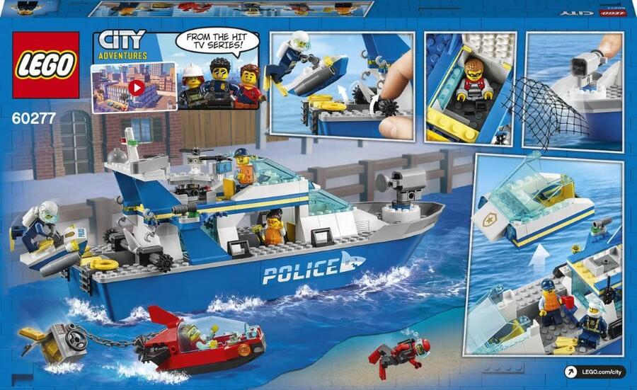 60277 LEGO City Polis Devriye Botu