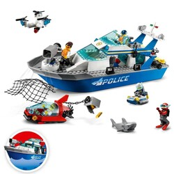 60277 LEGO City Polis Devriye Botu - Thumbnail