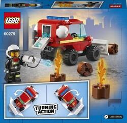 60279 LEGO City İtfaiye Jipi - Thumbnail