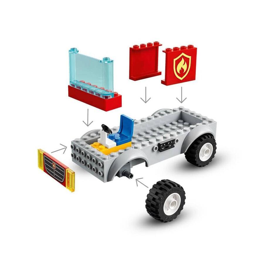 60280 LEGO City Merdivenli İtfaiye Kamyonu