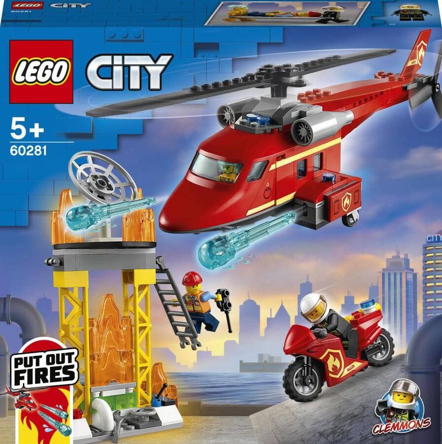 60281 LEGO City İtfaiye Kurtarma Helikopteri