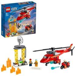 60281 LEGO City İtfaiye Kurtarma Helikopteri - Thumbnail