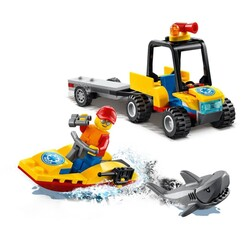 60286 LEGO City Plaj Kurtarma ATV'si - Thumbnail