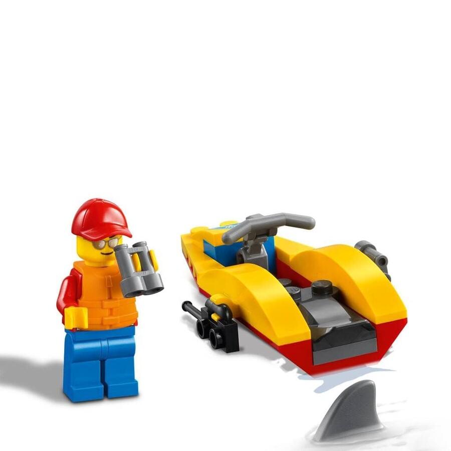 60286 LEGO City Plaj Kurtarma ATV'si