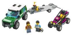 LEGO - 60288 LEGO City Yarış Arabası Taşıma Aracı