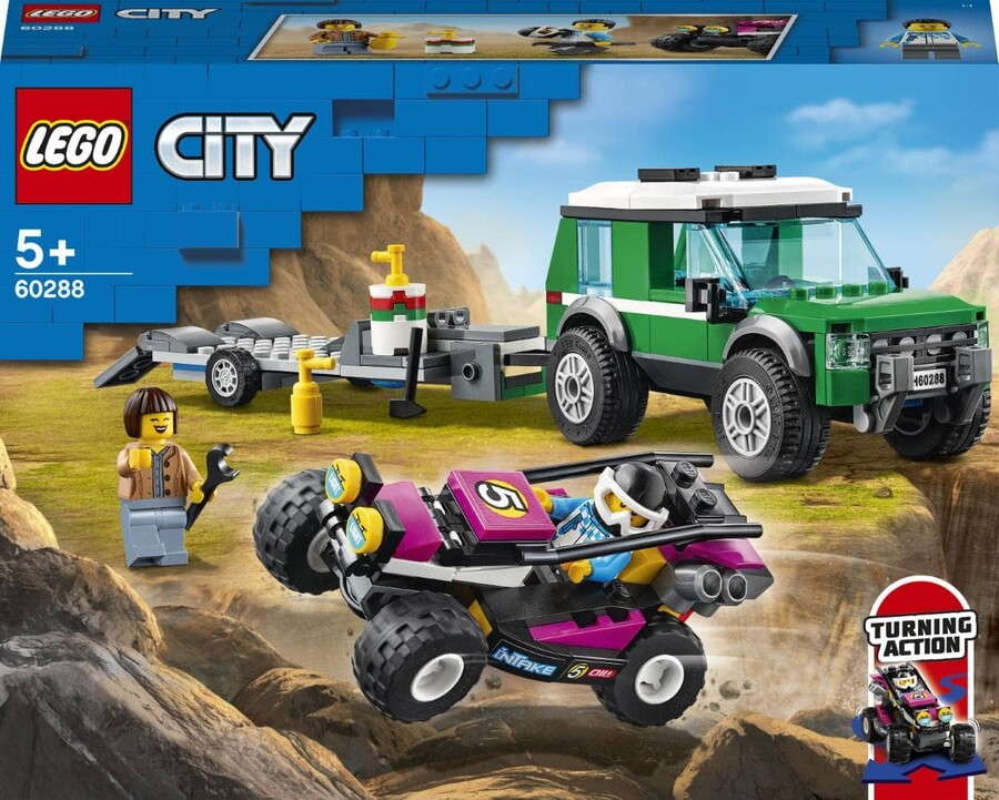 60288 LEGO City Yarış Arabası Taşıma Aracı