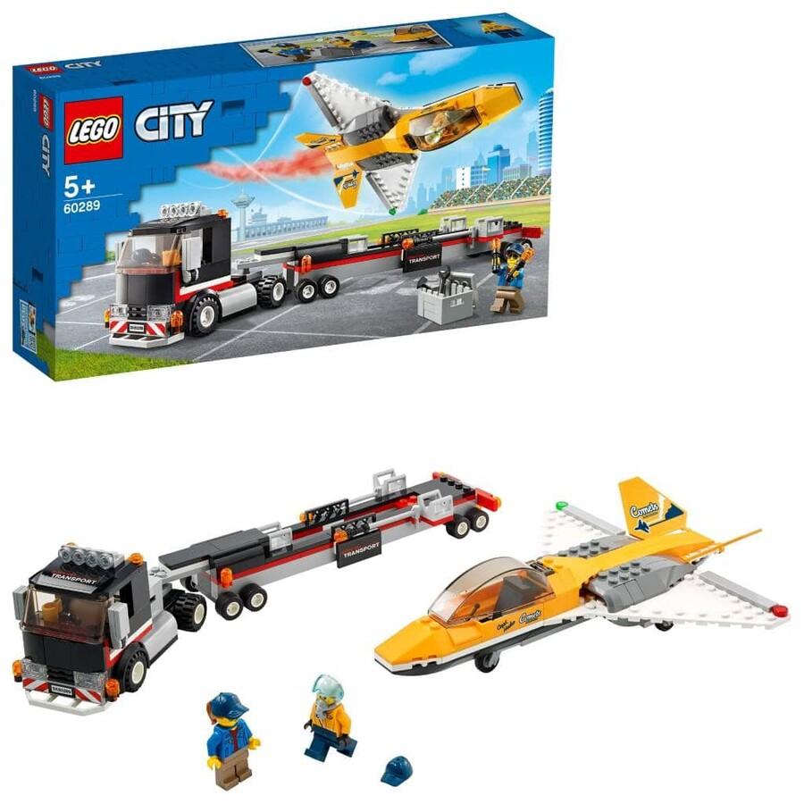 60289 LEGO City Gösteri Jeti Taşıma Aracı