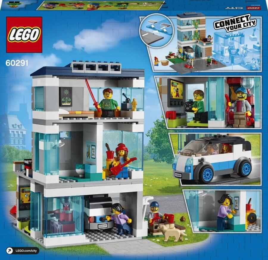 60291 LEGO City Aile Evi