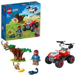 60300 LEGO City Vahşi Hayvan Kurtarma ATV'si - Thumbnail
