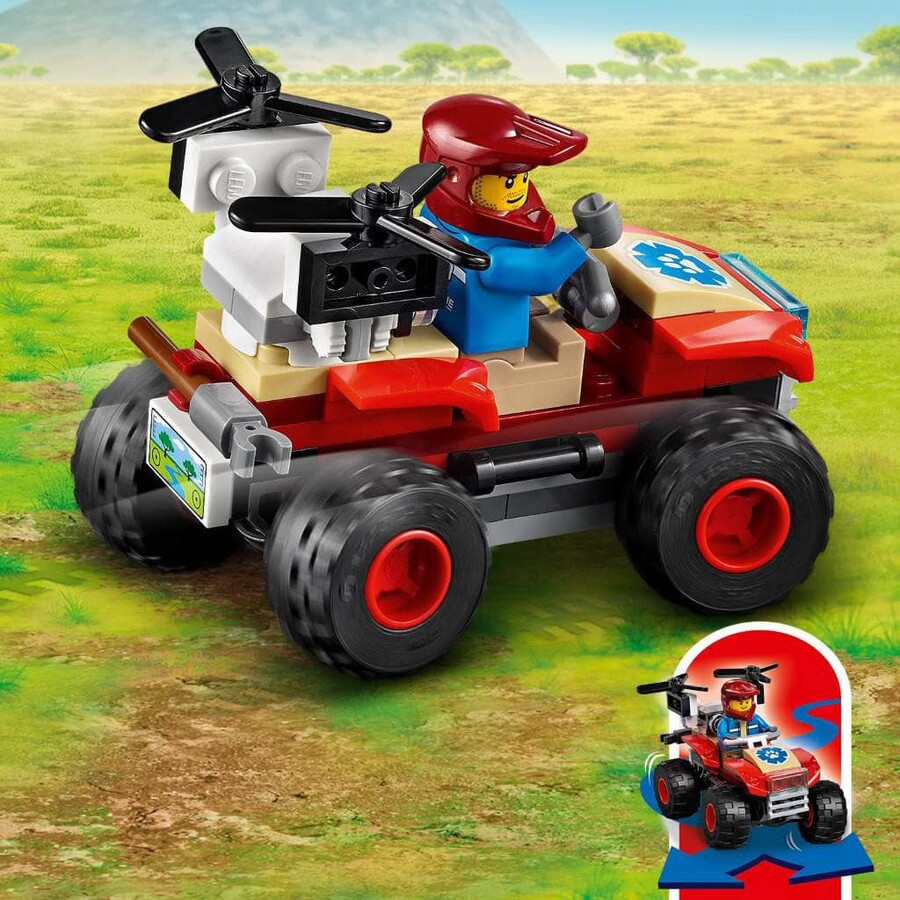 60300 LEGO City Vahşi Hayvan Kurtarma ATV'si