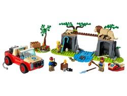 LEGO - 60301 LEGO City Vahşi Hayvan Kurtarma Jipi