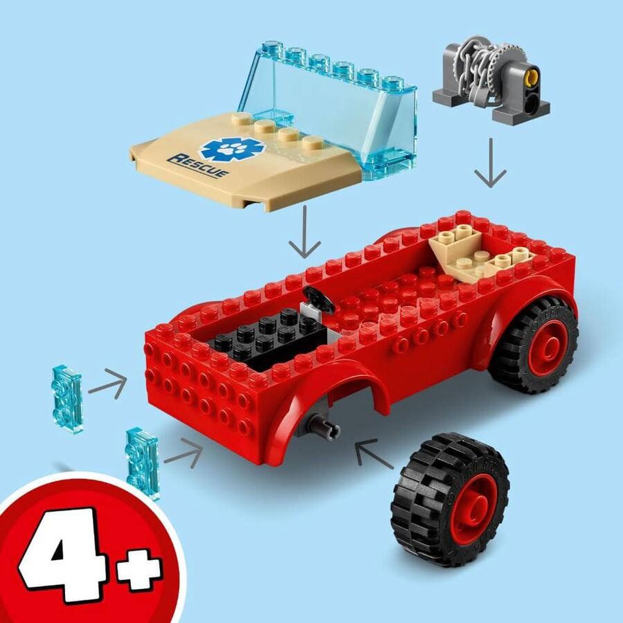 60301 LEGO City Vahşi Hayvan Kurtarma Jipi