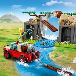 60301 LEGO City Vahşi Hayvan Kurtarma Jipi - Thumbnail