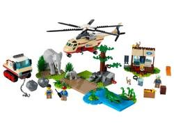 LEGO - 60302 LEGO City Vahşi Hayvan Kurtarma Operasyonu