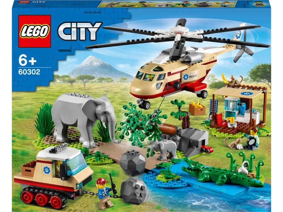 60302 LEGO City Vahşi Hayvan Kurtarma Operasyonu
