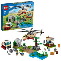 60302 LEGO City Vahşi Hayvan Kurtarma Operasyonu - Thumbnail