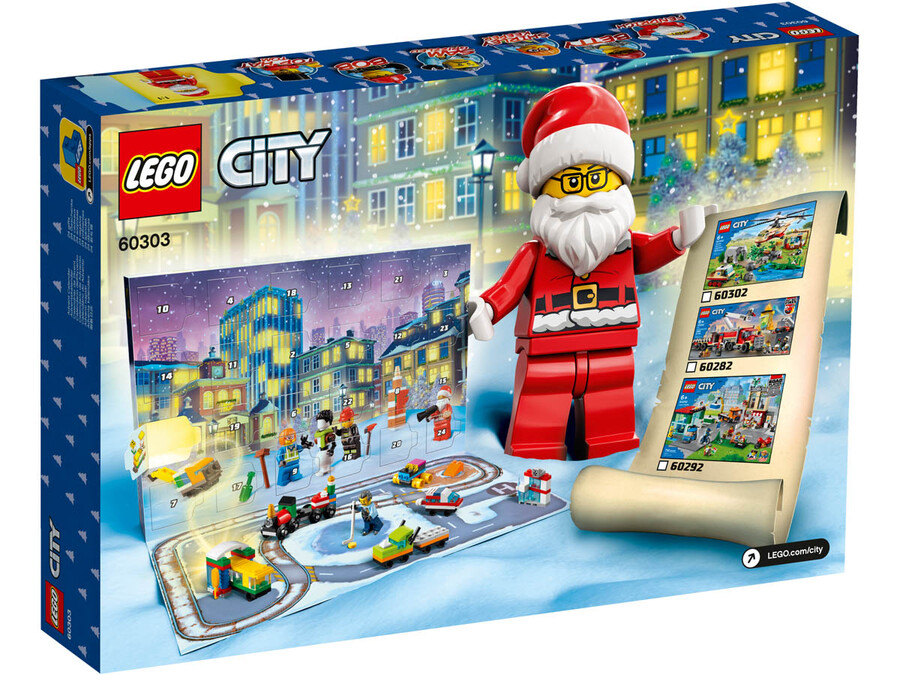 60303 LEGO City Yılbaşı Takvimi