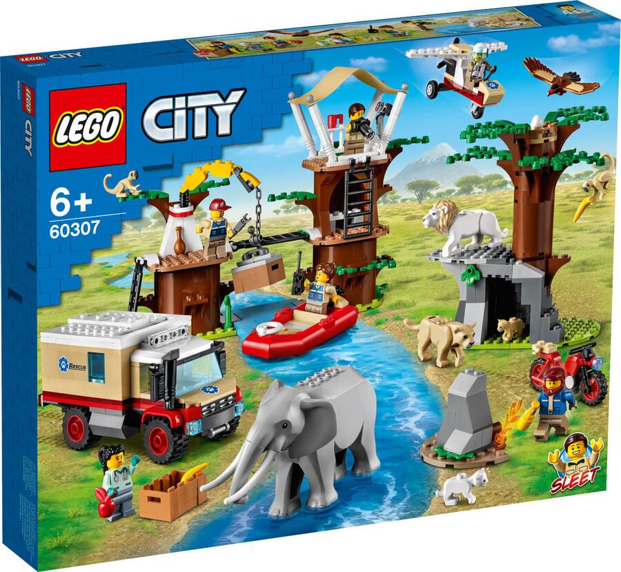60307 LEGO City Vahşi Hayvan Kurtarma Kampı